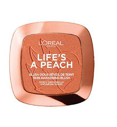 L'Oreal Paris Life's a Peach Powder Blush, Peach Addict, 9g