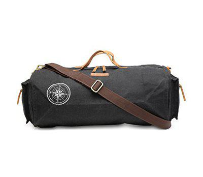 The House Of Tara Special Canvas Duffle/Gym Bag (Raven Black) HTD 137