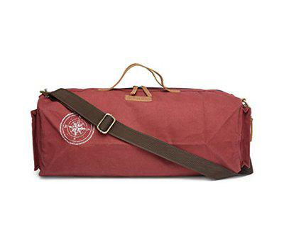 The House Of Tara Special Canvas Duffle/Gym Bag (Tibetan Red) HTD 138