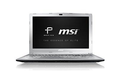 MSI Prestige PE62 7RE-2024XIN 2017 15.6-inch Laptop (7th Gen Core-i7/8GB RAM/1TB HDD/DOS/4GB Graphics), Silver