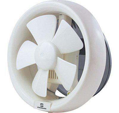 Standard Refresh Air Dxr 200mm Exhaust Fan (White)