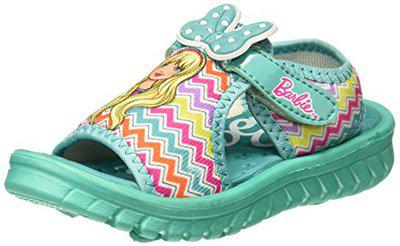 Barbie Girl's Sea Green Fashion Sandals-8 Kids UK/India (26 EU) (BBPGSS0572)