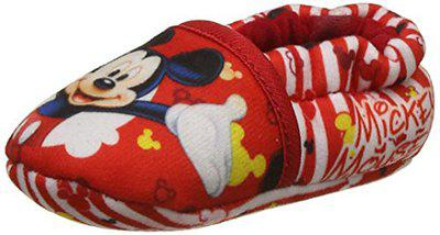 Mickey Baby Boy's Red Booties-3-6 Months UK/India (16.5 EU) (MMPBBO0631)