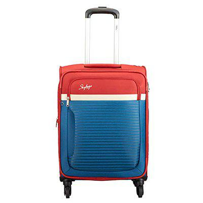 Skybags Glitz Polyester 69 cms Blue Softsided Check-in Luggage (STGLIW69DBL)
