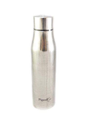 Pigeon Stainless Steel Glamour Glossy Water Bottle - (1000 ml)