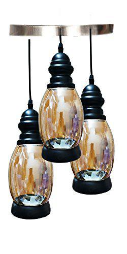Decorative Classic Ceiling Pendant Lamp for Living Room Bedroom and Home Decor (Multicolour)