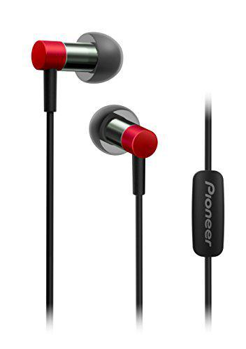 Pioneer Hi-Res Audio in-Ear Headphones, Red SE-CH3T(R)