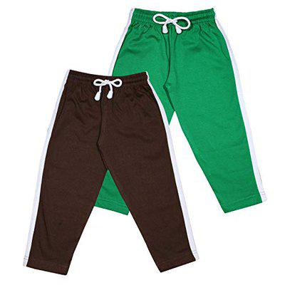 Luke and Lilly Boys Cotton Trackpant - Pack of 2 (Multicoloured_ 2-3 Years) Green