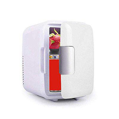 globalurja Cool and Warm Car Refrigerator, 4 L , White