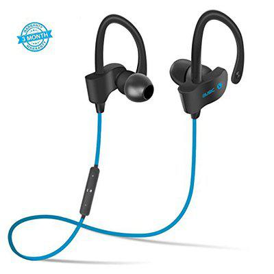 MyStyle Bluetooth 4.1 Wireless Stereo Sport QC-10 Sweatproof Noise Cancellation Headset Compatible with All Android/iOs Smartphone- (Green)