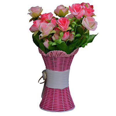 Sky Trends Artificial Flowers with Flower Pot | Flower vase for Home Decoration | Flower Pot with Artificial Flowers