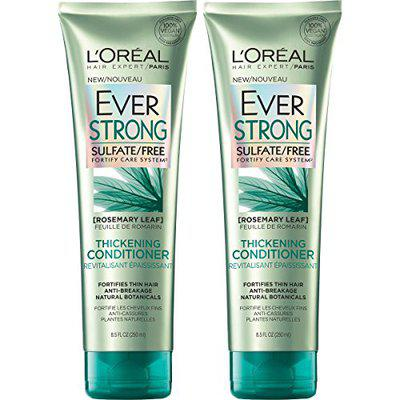 L'Oreal Paris Hair Care Ever Strong Sulfate Free Thickening Conditioner, 2 Count
