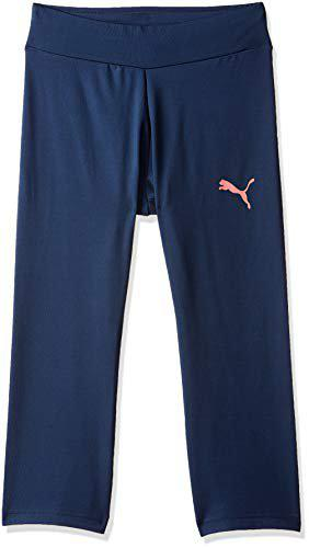 Puma Girl's Straight Fit Trousers (85287450_Sargasso Sea_164)