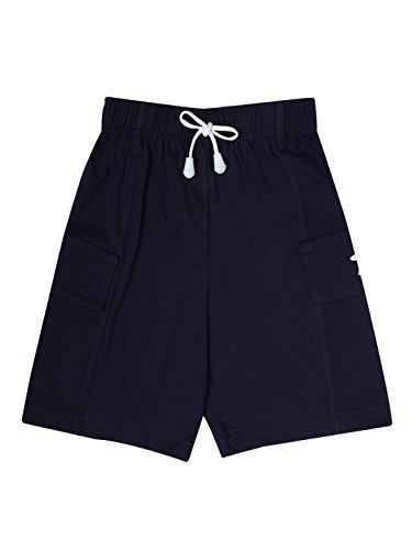 Dollar Champion Kidswear Boy's Shorts (MCBB-131_Navy Blue_13-14 Years)