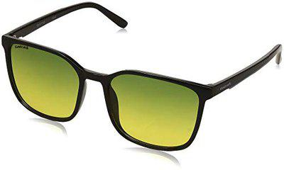 Fastrack UV Protected Oval Men's Sunglasses - (P408GR4|55|Green Color Lens)