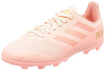 Adidas Boy's Predator 18.4 FxG J Cleora/Trapnk Football Shoes-4 UK/India (36.67 EU) (DB2322)