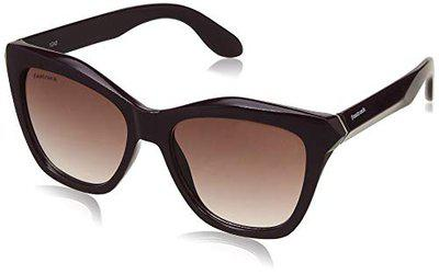 Fastrack Gradient Square Women's Sunglasses - (C075PR1F|53|Purple Color Lens)