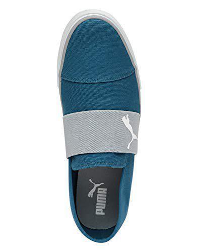 Puma Unisex's Corsair-Quarry White Sneakers-8 UK/India (42 EU) (4059507913470)