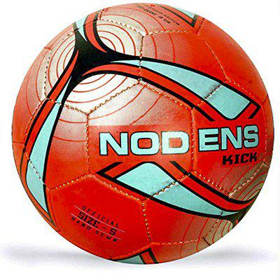 Nodens Football Kick (Size: 5),Red