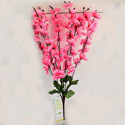 Ashiyanadecors Artificial Flowers Pink Natural Looking for Home & Garden Dcor