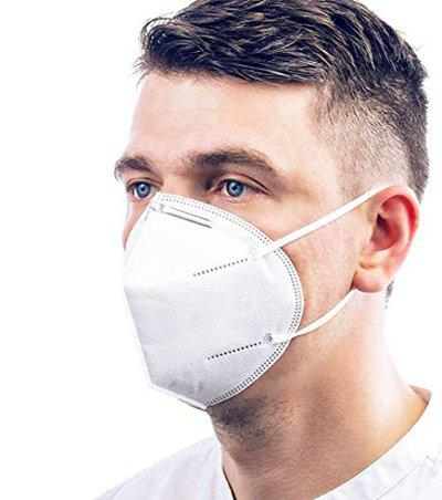 Vritraz N95 PM 2.5 Anti-Pollution Activated Carbon Face Mask with Breathing Valve (Pink,Pack of 1)