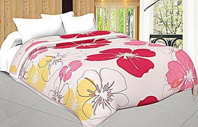 Craft Trade Soft and Light Weight Designer Printed Double Bed AC Dohar/Ac Comforter for Home