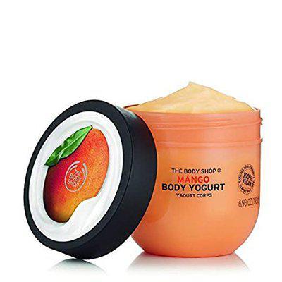 GB-S: The Body Shop Mango Body Yogurt, 48hr Moisturizer, 100% Vegan 200 ml