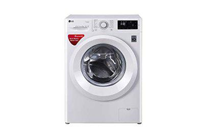 LG 6.0 Kg Inverter Fully-Automatic Front Loading Washing Machine (FHT1006HNW, Blue White)