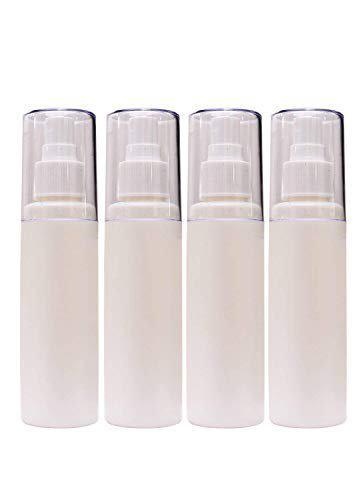 Prime Plastic Empty Spray Bottle - 100ml, 4 Pieces, Transparent