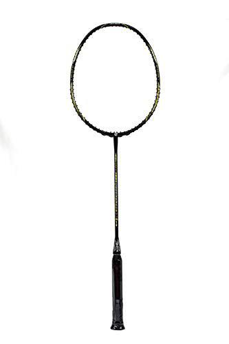 Apacs Feather Weight 55 Unstrung Badminton Racquet-Gold-with Full Cover-Original Sold by Triple Point Ventures
