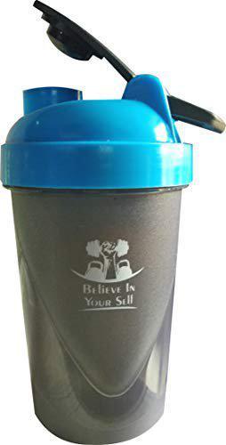 Udak 700ML Grey Tablet Bottle/Protein Shaker Bottle/Shaker Bottle/Gym Bottle/Sipper Bottle/Water Bottle for Men's/Women's/Boy's/Girl's