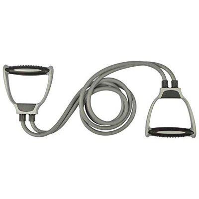 Tima 2 Rope Rubber Tonning Tube Resistance Tube (Multicolor)