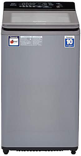 Panasonic 6.2 kg Fully-Automatic Top Loading Washing Machine (NA-F62A7CRB, Charcoal Inox Grey)