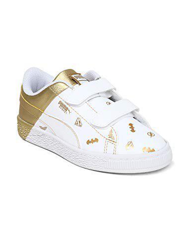Puma Unisex's JL Basket PS FNight-P Blk-FC Sneakers-12 UK/India(47 EU) (4059504951840)