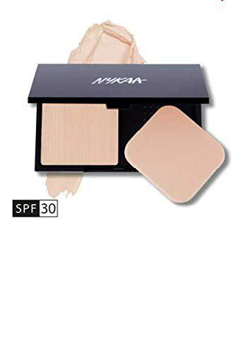 Nykaa Creme to Powder Compact Almond Drizzle 02