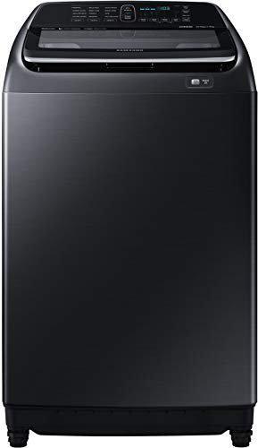 Samsung 16 kg Inverter Fully-Automatic Top Loading Washing Machine WA16N6780CV/TL Black Stainless