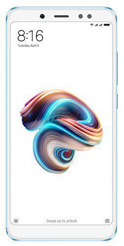 Redmi Note 5 Pro (Blue, 4GB RAM, 64GB Storage)