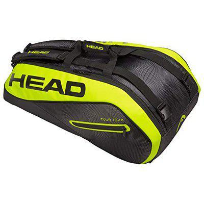 Head Tour Team Extreme 9R Scombi Tennis Kit Bag (Black/Neon/Yellow)