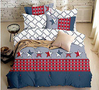 California Fitted Bedsheet Queen Size (3 Pcs Set 1 California Queen Fitted Double Bedsheet with 2 Pillow Covers)