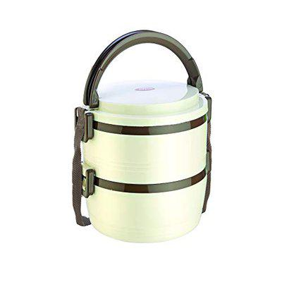Jayco Home Meal Junior 2 Containers Hot Lunch Pack, Ivory