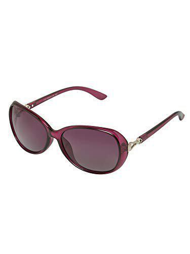 Vast Polarized Over sized Women Sunglasses (1731_C3_PURPLE)