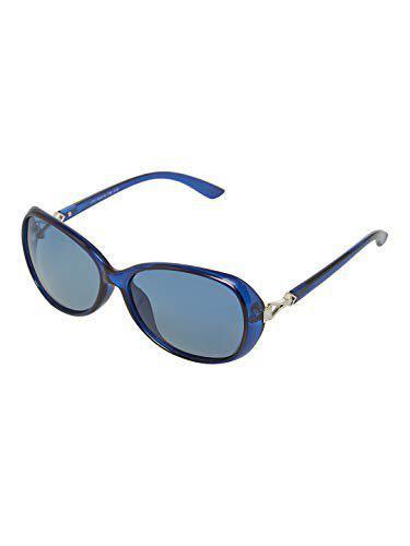 Vast Polarized Over sized Women Sunglasses (1731_C18_BLUE)