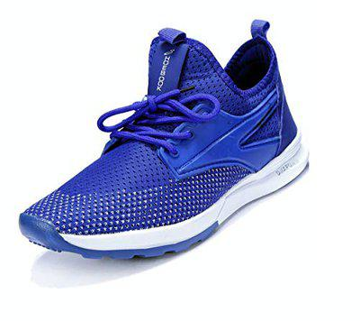 Shoebook Men's Royal Blue Mesh Running Sports Shoes (9)