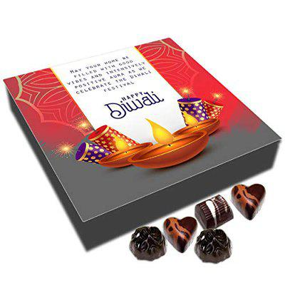 Chocholik Diwali Sweets - Let Diwali Be The Start of Your New Successful Life Happy Diwali, 9 Piece, 108 G