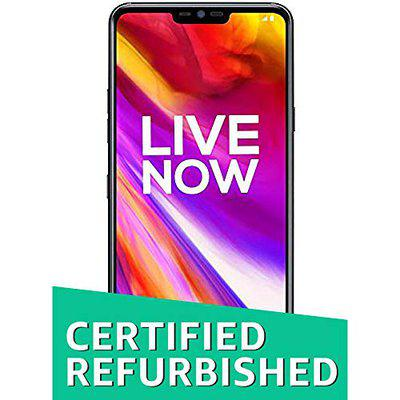 (Renewed) LG G7+ ThinQ LMG710EAW (Black, 6GB RAM, 128GB Storage)