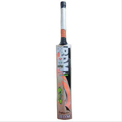 BDM Boom English Willow Cricket Bat Full Size with Cover