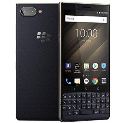 BlackBerry KEY2 LE Lite DualSIM 64GB BBE1004 QWERTY Keypad GSM Only No CDMA Factory Unlocked 4G Smartphone Bronze  International Version  No Warranty
