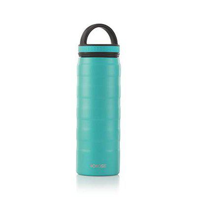 Borosil Stainless Steel Ace- Vacuum Insulated Flask Water Bottle, 600ML
