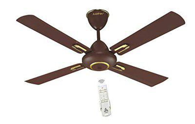 Jupiter Maharaja 5 Star Energy Saver Ceiling Fan with Remote Controlled Matt Brown 4 Blades BLDC Motor 1200 mm