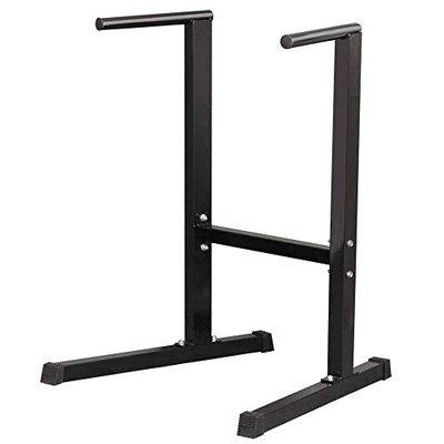 IBS Functional Exercise Station Stabilizer dip Stand Station with stabilizing Challenger Bars is Perfect for Full Body bodyweight Resistance Exercises Such as dips, Push and Pull